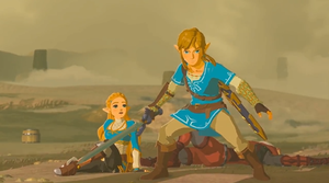 Link and Princess Zelda Breath of the Wild (2017)  by 9029561