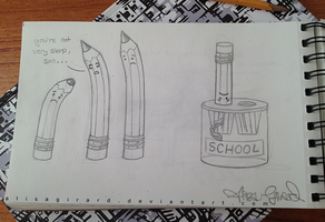 Doodle: Proper Education by alisagirard