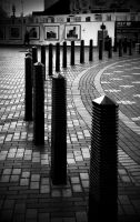the thin black line by awjay