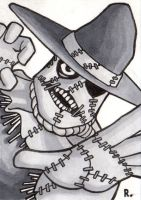 Scarecrow Sketchcard by TheRigger