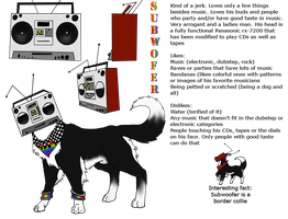 Subwoofer Ref by CrystalCircle