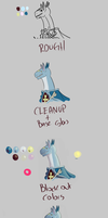 Painting Study 2: Palettes by CountDraggula