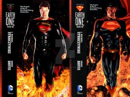 Superman Earth One Original vs Live Action by thewolverine94