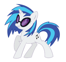 365 Day 193 Vinyl Scratch by Korikian