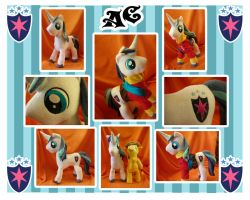 Shining Armor Plush by Val-Hasseth
