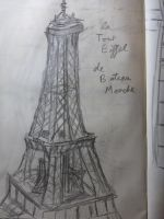 Eiffel Tower by DungeonBrony