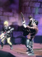 Rockband 3 character's Naoko, Sassafra and me by CammyWhammy