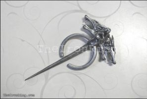 Daenerys's brooch (new) by TheIronRing