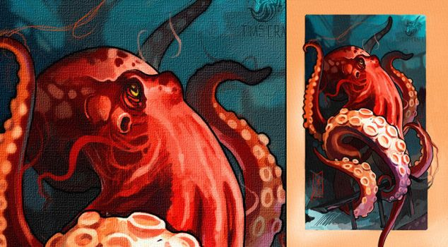 Octopus by black-3G-raven