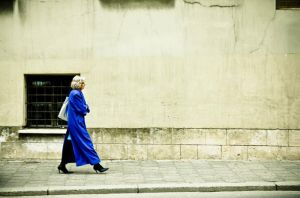 The woman in blue by mila2boo