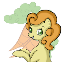a pony named carrot top by Chandeluree