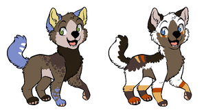 Pups to ~LizzysAdopts by MichelsAdoptions