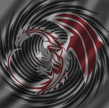 White Dragon Incorporated flag by ZhanLong