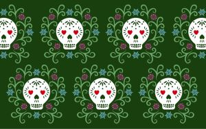 Day of the Dead Wallpaper 3 by lain56