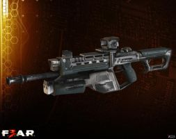 G3A3 Assault Rifle [F3AR] by Goreface13