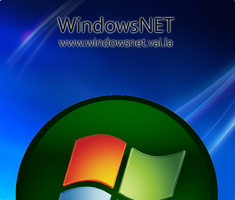 Vista Blue and Green ID by WindowsNET