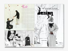 cover for design magazine by dhii
