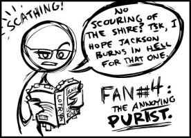 no. 4- the ANNOYING Purist. by shoomlah