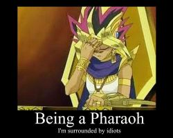 Being a Pharaoh... by AtemFan18