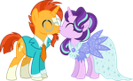 Sunburst and Starlight are getting married (COM) by Osipush