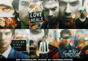 Ian Somerhalder Iconset by KannibalxKatiee