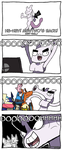 Obligatory Mewtwo Comic by Dragonith