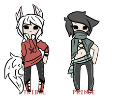 Random adopts -TAKEN- by TribalPrince
