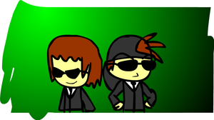 Dabbey And Richard The Agents! by DabZen