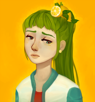 sour girl by iPPG