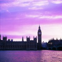 Westminster, Sunset III by acidfast
