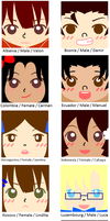 APH OC square icons by melonstyle