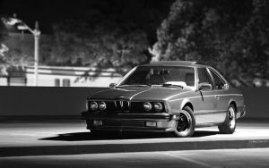 BMW E24 - Morena in the Dark by AbaddonVolac
