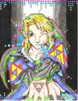 RoH- Link the King of Raves by Hylianwolf