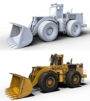 Caterpillar 988 by AlxFX