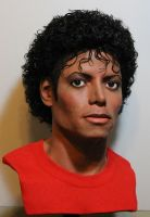 MJ lifesize Thriller bust by godaiking
