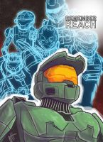 Remember Reach by JoeHoganArt