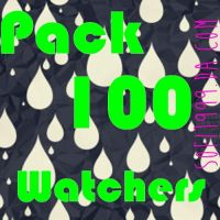 Pack 100 Watchers *-* by sofi1999
