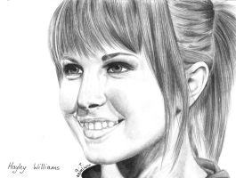 Hayley Williams by Pandannabelle