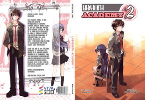 Novel cover - Labyrinth Academy 2 by Power-J