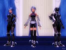 Aqua Pack [XPS] by LexaKiness