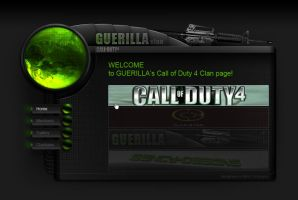 CoD4 Clan Page by Benjamin-Dandic