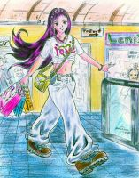 The shopaholic chick by soulblade35