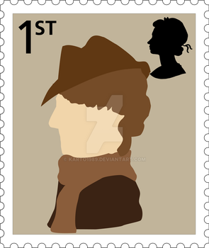 Doctor Who stamps preview by karto1989