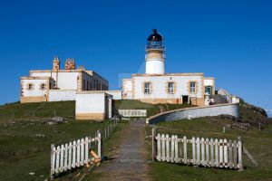 Niest Point Lighthouse by Coquin