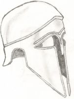 Greek Helmet by hawk767