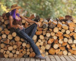 Cowgirl by rschoeller