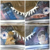 Doctor Who chucks by uprisencydonian