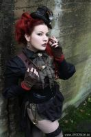Lady Steam Punk V by MADmoiselleMeli