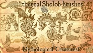 Mythological Creatures I by therealShelob