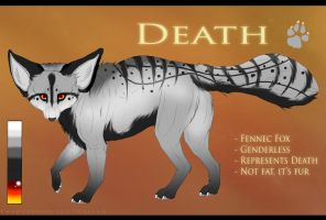 . Death - Reference sheet . by Kasamm